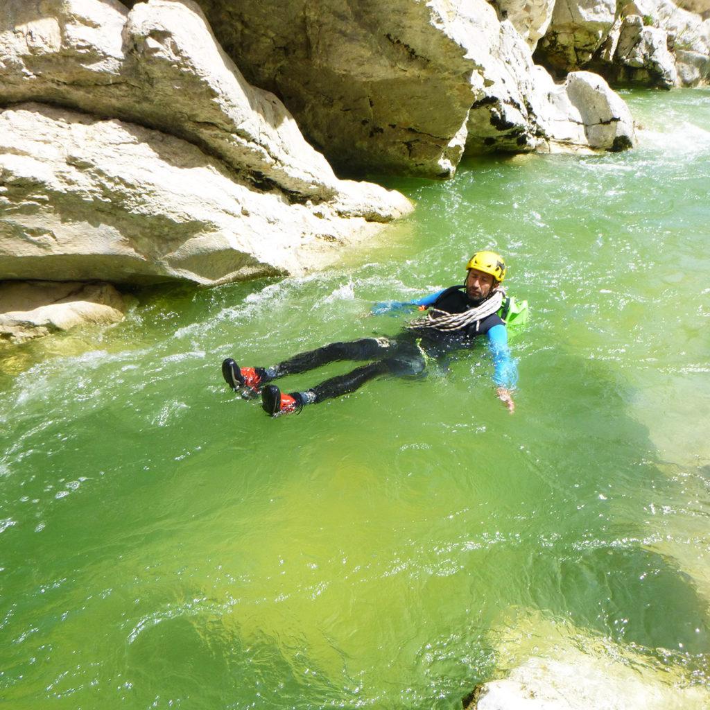 floating canyon verdon