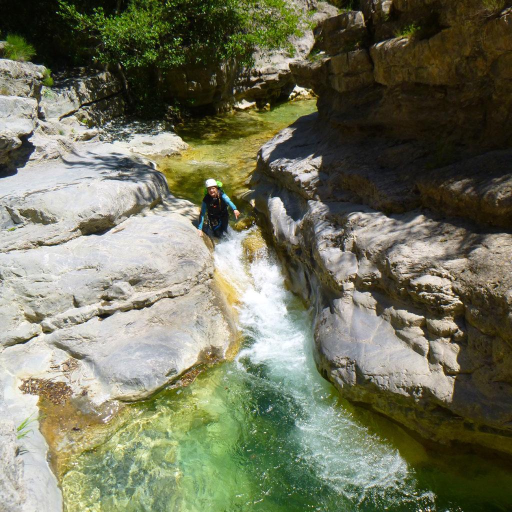 Canyon rapide