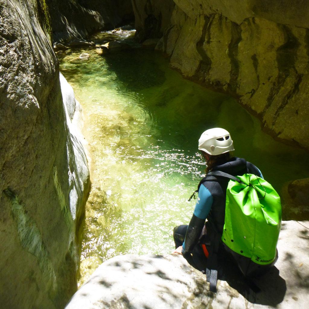 saut canyon verdon