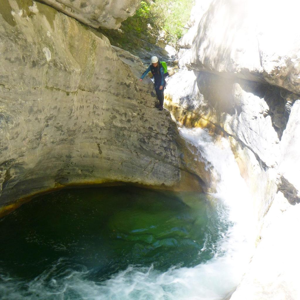saut canyoning