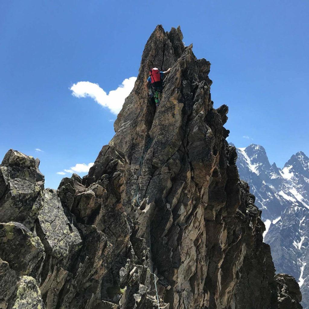 Alpinisme roche
