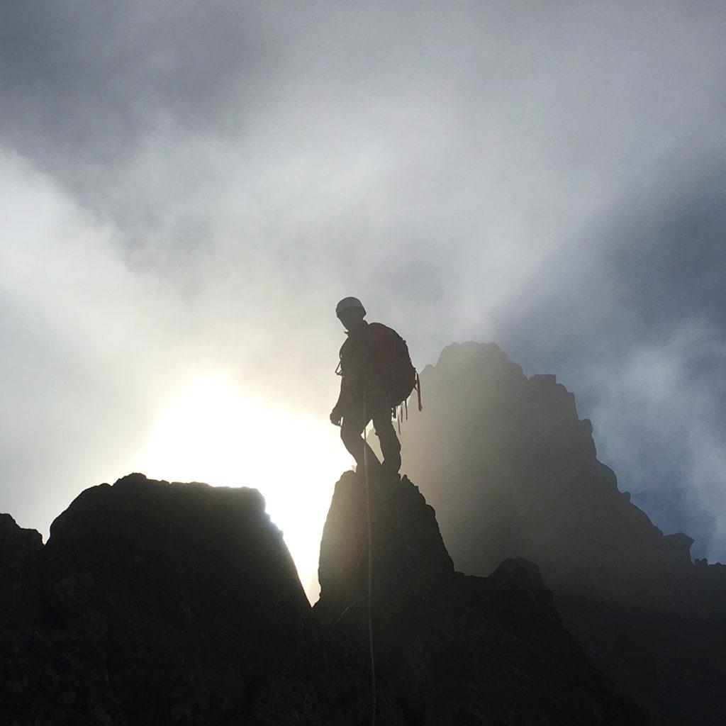 Alpinisme hauteur