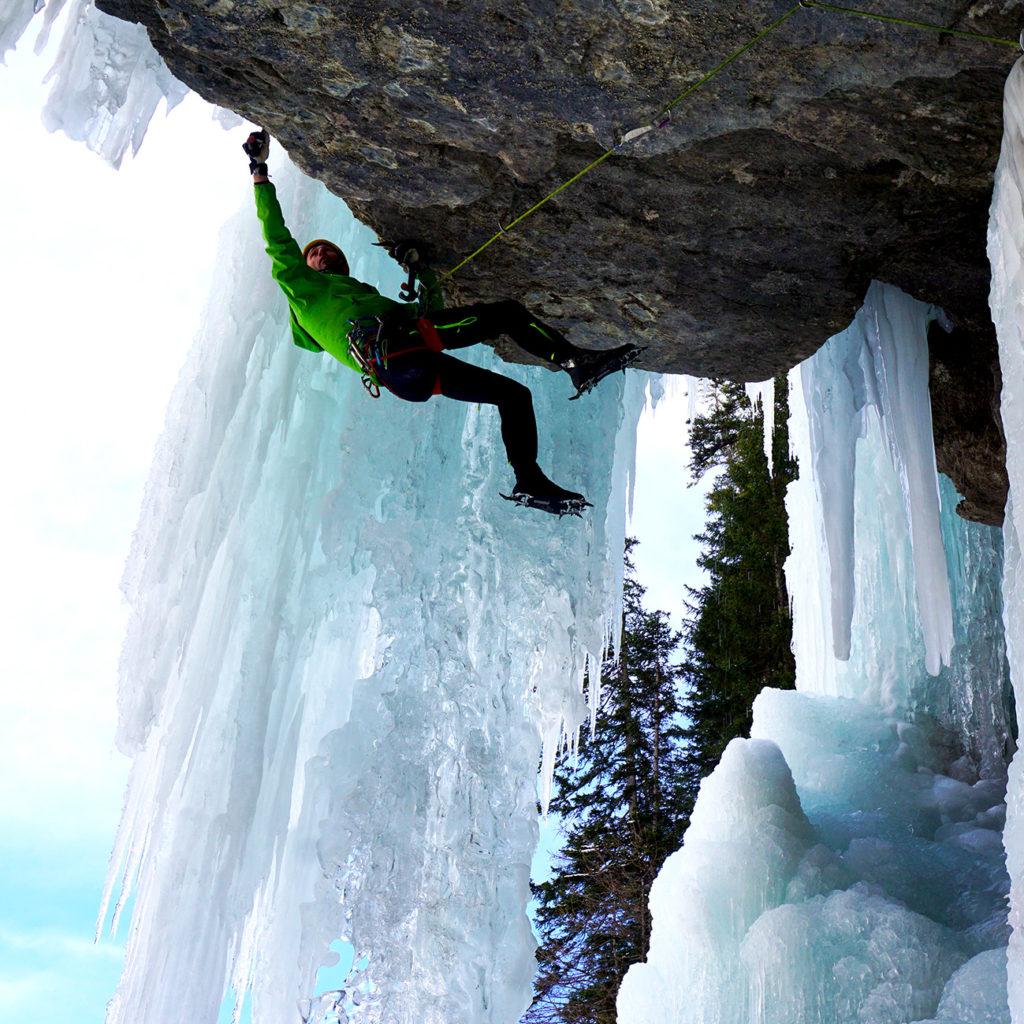 escalade glace
