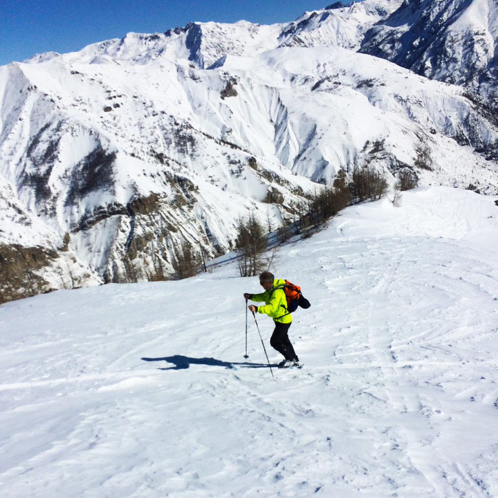 ski de randonnée auron