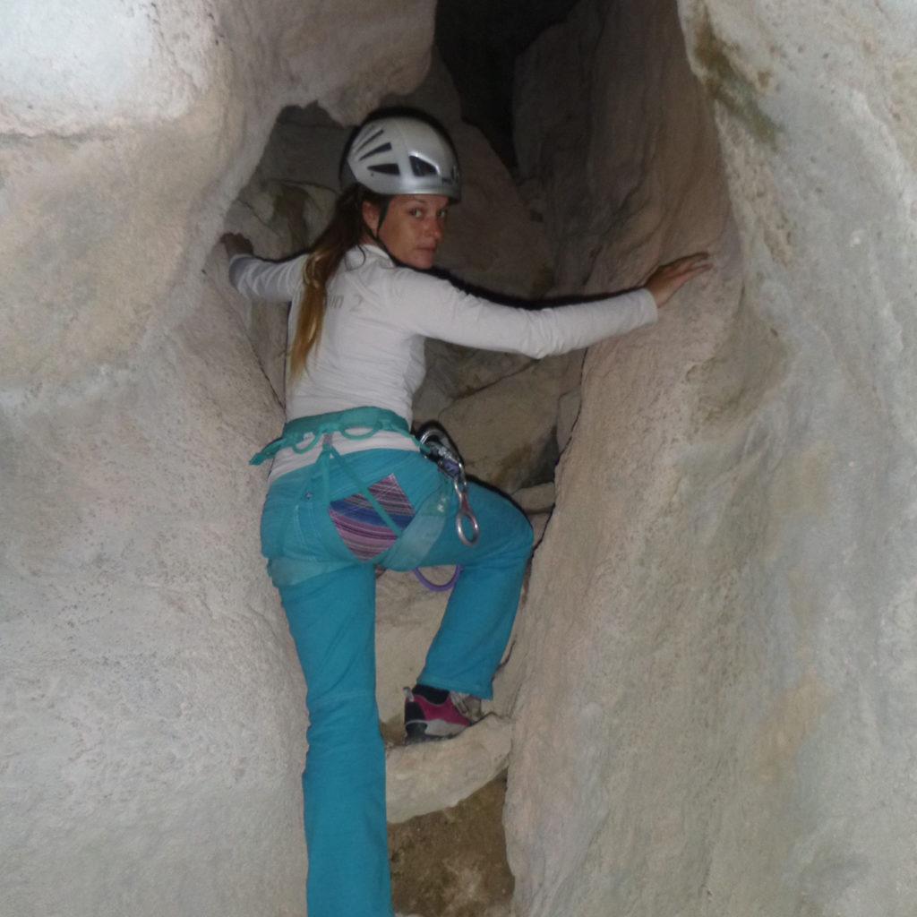 Parcours aventure grotte