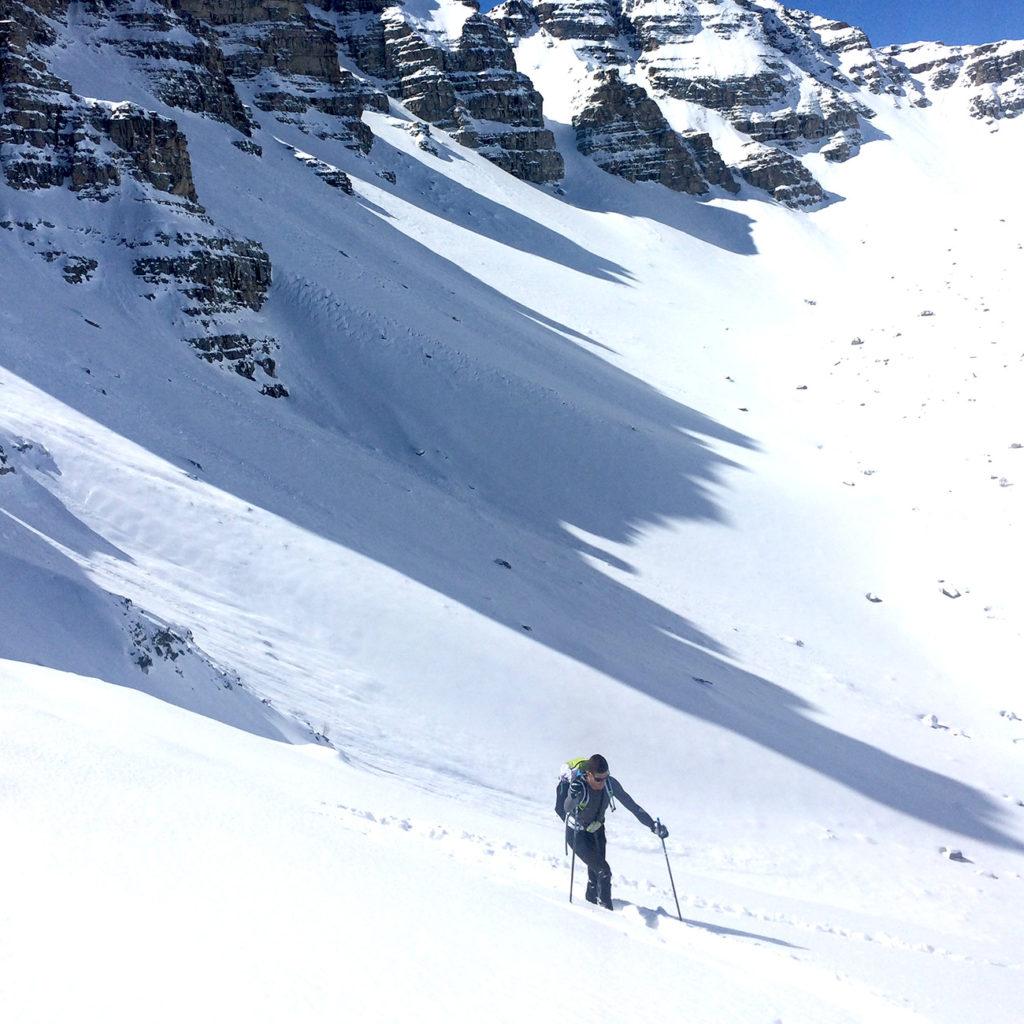 ski de randonnée neige